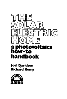 The Solar Electric Home PDF