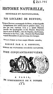 Histoire naturelle generale et particuliere: Volume59
