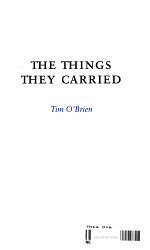 The Things They Carried PDF