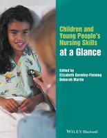 Children and Young People s Nursing Skills at a Glance PDF