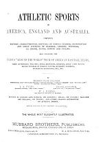 Athletic Sports in America, England and Australia
