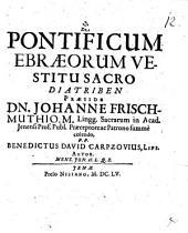 De pontificum Ebraeorum vestitu sacro diatriben