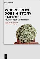 Wherefrom Does History Emerge  PDF