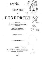 Œuvres de Condorcet