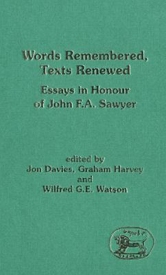 Words Remembered  Texts Renewed PDF