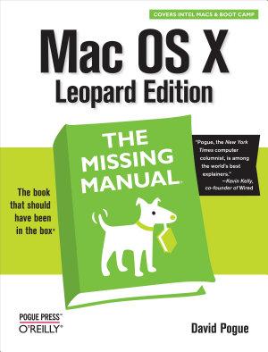 Mac OS X Leopard  The Missing Manual PDF