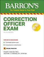 Correction Officer Exam PDF