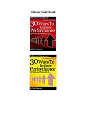60 Ways To Improve Performance At Work and Personal Life: Productivity Bundle