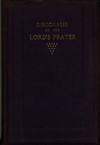 Discourses on  the Lord s prayer   PDF