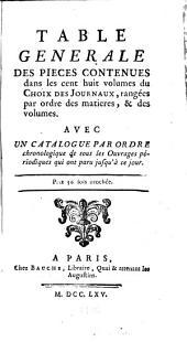 Nouveau choix de pieces tirées des anciens Mercures: et des autres journaux ..., Volumes1à109