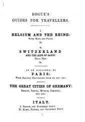 Switzerland and Savoy