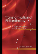 Transformational Philanthropy: Entrepreneurs and Nonprofits