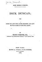 Dick Duncan PDF