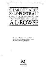 Shakespeare's Self-portrait