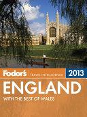 Fodor's England 2013