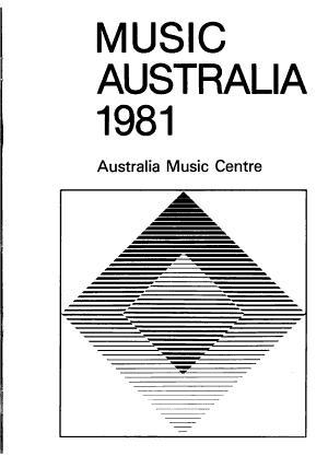 Music Australia 1981 PDF