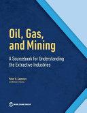 The Extractive Industries Sourcebook