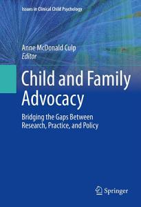 Child and Family Advocacy Book