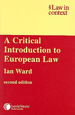 A Critical Introduction to European Law