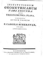 Institutiones geometricae: conscripta in usum tironum. Trigonometria plana. 2
