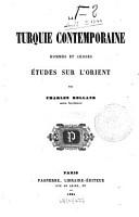 La Turquie contemporaine PDF