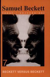 Beckett Versus Beckett: Volume 7