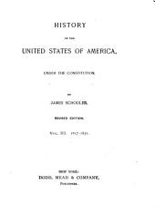 History of the United States of America: 1817-1831