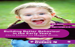 Building Better Behaviour In The Early Years Book PDF