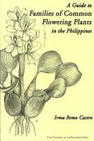 A Guide to Families of Common Flowering Plants in the Philippines PDF