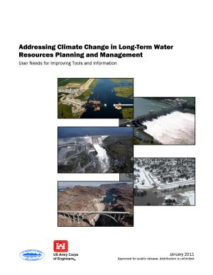 Addressing Climate Change in Long Term Water Resources Planning and Management PDF