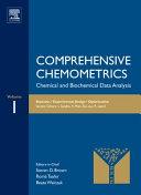Comprehensive Chemometrics: Statistics, experimental design, optimization