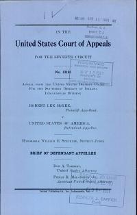 McKee V  United States of America