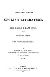 History of English Literature and Language: Volume 2