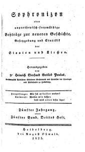 Warnung vor möglichen Justizmorden durch rechtliche und allgemein verständliche Beleuchtung der fonkisch-hamacherischen Cause celebre (etc.): Band 3;Band 5