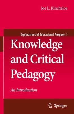 Knowledge and Critical Pedagogy PDF
