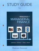 Study Guide for Prinicples of Managerial Finance PDF