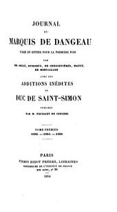 Journal du marquis de Dangeau: 1684-1686