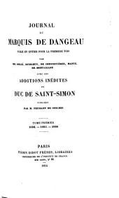Journal du marquis de Dangeau: 1684-1686