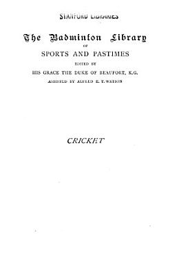 Cricket PDF