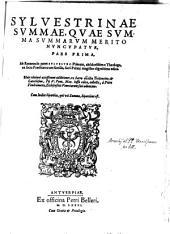 Summa Summarum, quae Sylvestrina dicitur: Τόμος 1