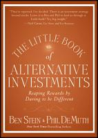 The Little Book of Alternative Investments PDF