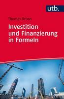 Investition und Finanzierung in Formeln PDF