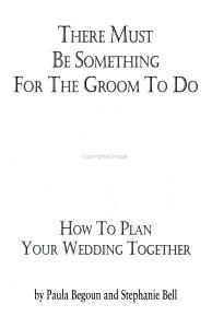 There Must Be Something for the Groom to Do PDF