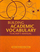 Building Academic Vocabulary PDF