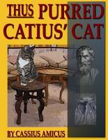Thus Purred Catius  Cat PDF