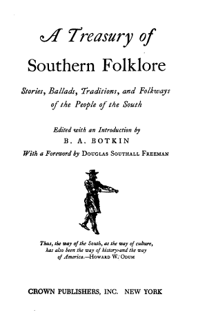 A Treasury of Southern Folklore