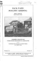 Back yard Poultry Keeping PDF