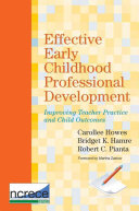 Effective Early Childhood Professional Development Book PDF