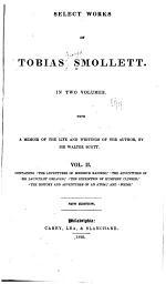 Select Works of Tobias Smollett ...