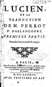 Lucien, de la traduction de Nicolas Perrot Sr d'Ablancourt